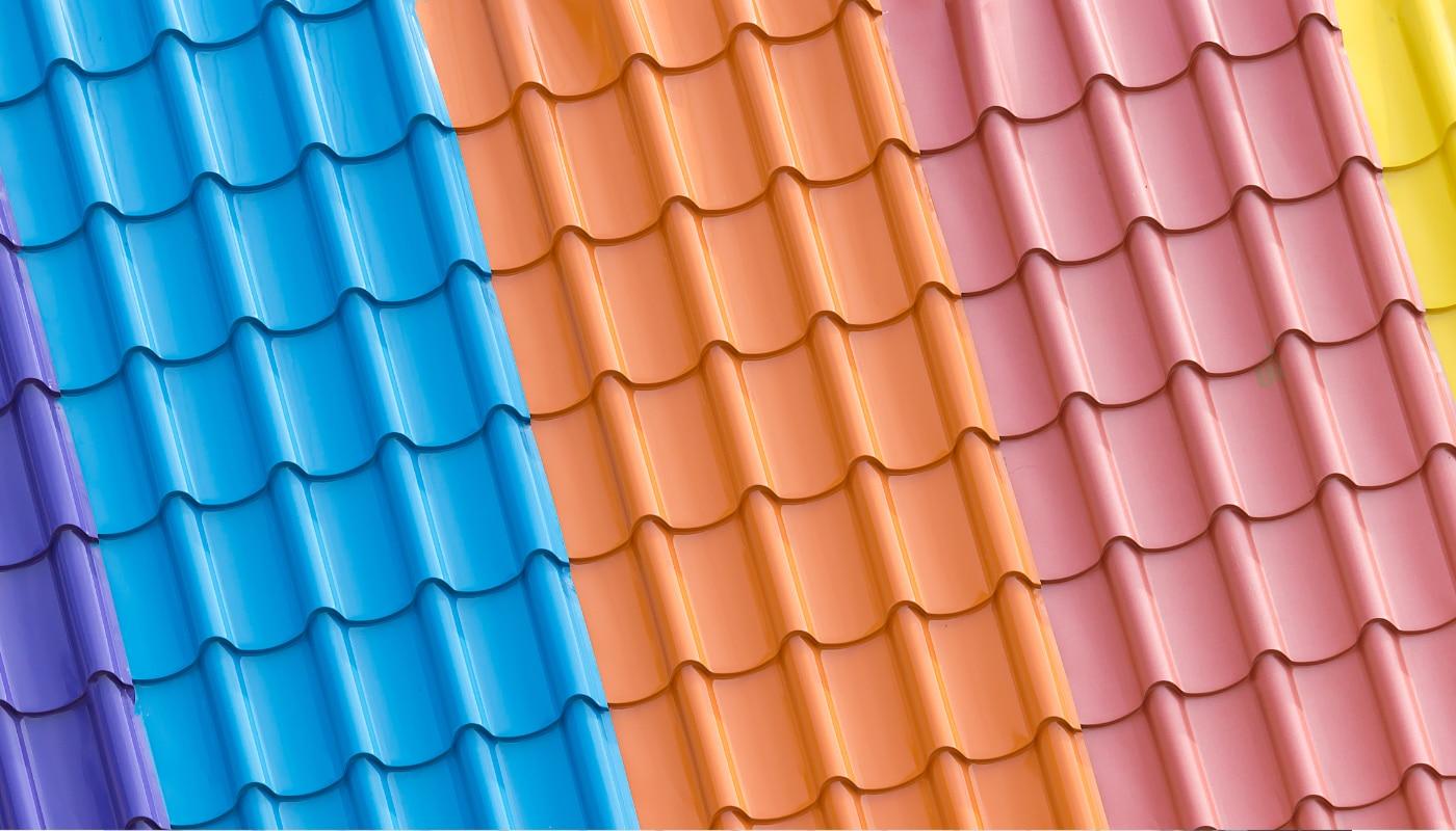 gekleurde dakcoating