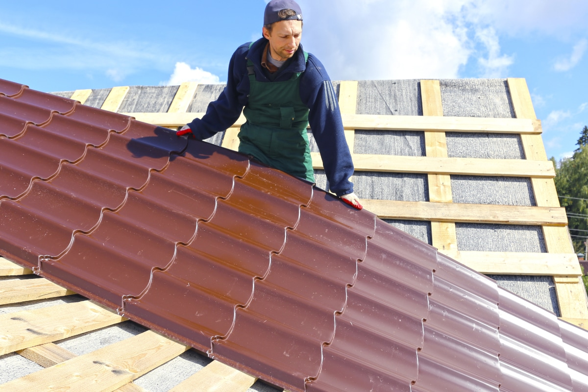 polytuil dak reinigen