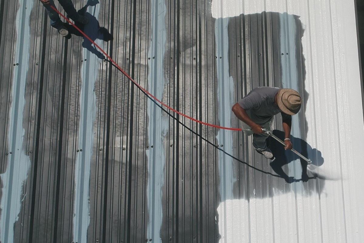 warmte reflecterende dakcoating en dakverf
