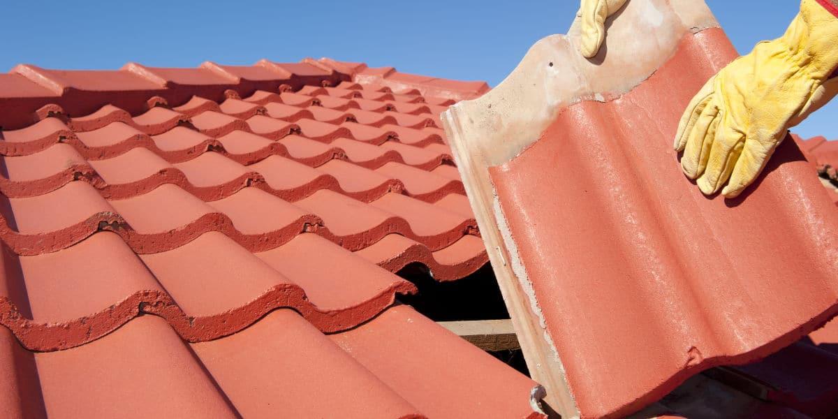 verven dakpannen